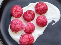 roasted radishes with greek yogurt