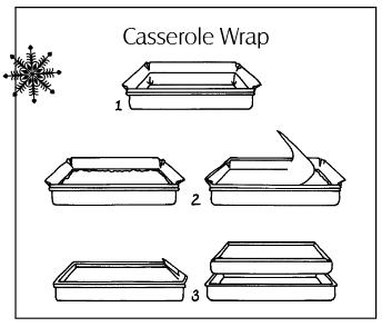 Casserole wrap