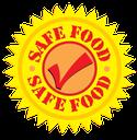 safe food check mark