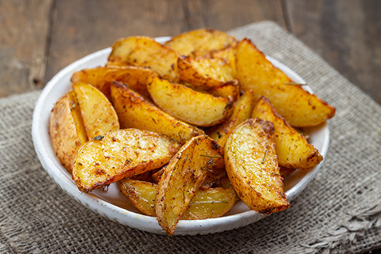 oven fries in a bowl