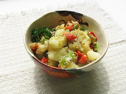 potatoes o'brien in a bowl