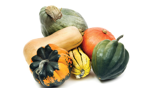 six types of winter squash