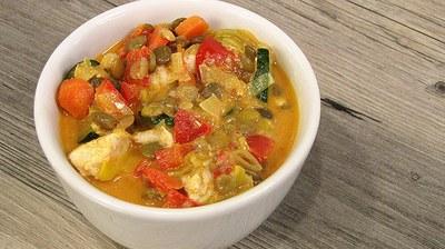 Lentil Chicken Curry
