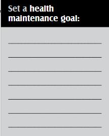 Health Mntc Goal