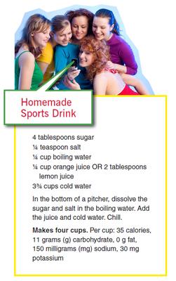 Homemade Sports Drink