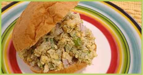 Chickpea Sandwiche