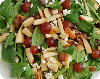 Fruite, Cheese and Nut Salad