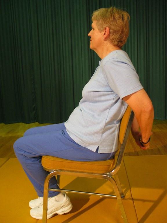Chair Chest Stretch