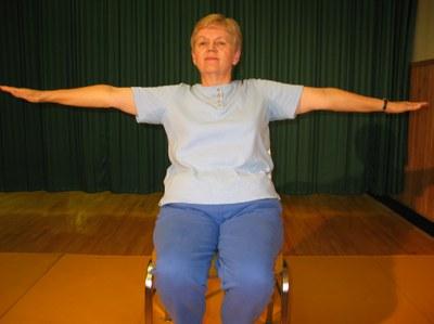 Chair horizontal