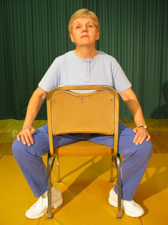 Chair inner thigh