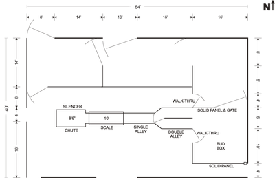 Working facilities plan
