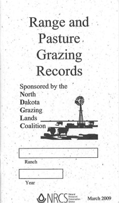 Range and Pasture Records