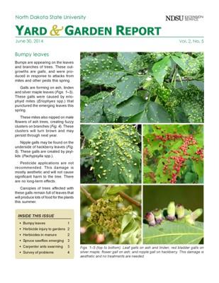 NDSU Yard & Garden Report for June 30, 2014