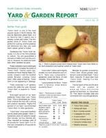NDSU Yard & Garden Report for November 15, 2014