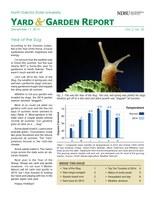 NDSU Yard & Garden Report for December 17, 2014
