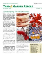NDSU Yard & Garden Report for November 2015