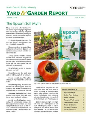 NDSU Yard & Garden Report for June 8, 2016