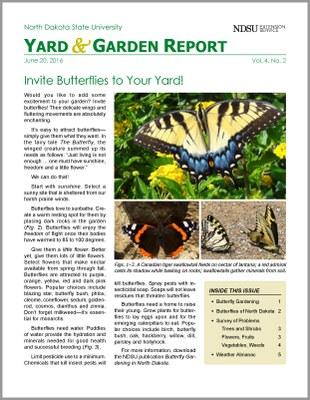 NDSU Yard & Garden Report for June 20, 2016