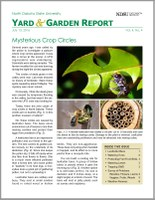 NDSU Yard & Garden Report for July 13, 2016