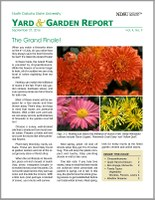 NDSU Yard & Garden Report for September 27, 2016