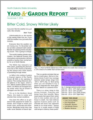 NDSU Yard & Garden Report for November 7, 2016