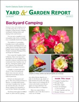 NDSU Yard & Garden Report for June 26, 2017