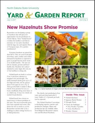 NDSU Yard & Garden Report for July 3, 2017