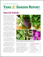 NDSU Yard & Garden Report for August 1, 2017