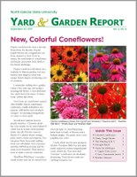 NDSU Yard & Garden Report for September 22, 2017