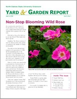 NDSU Yard & Garden Report for July 9, 2018