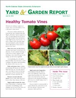 NDSU Yard & Garden Report for July 16, 2018