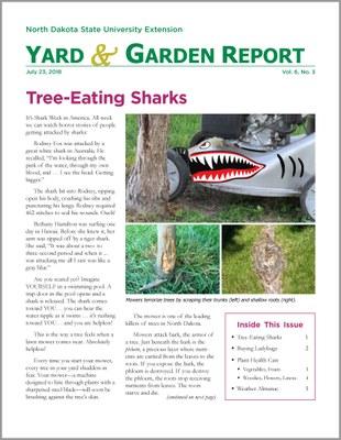 NDSU Yard & Garden Report for July 23, 2018