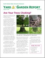 NDSU Yard & Garden Report for August 13, 2018