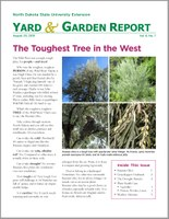 NDSU Yard & Garden Report for August 20, 2018