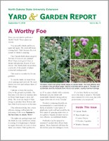 NDSU Yard & Garden Report for September 17, 2018