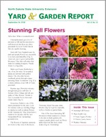 NDSU Yard & Garden Report for September 24, 2018
