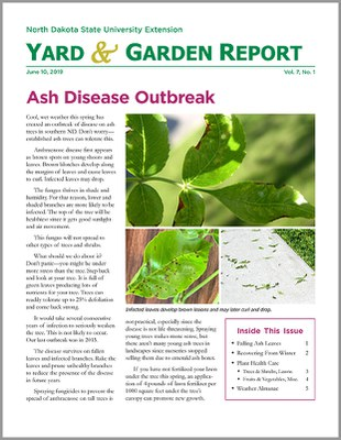 NDSU Yard & Garden Report for June 10, 2019
