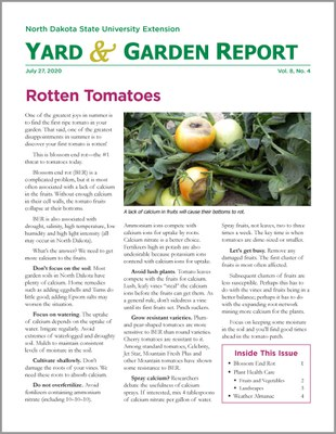 NDSU Yard & Garden Report for June 27, 2019