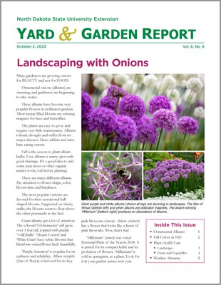 News for gardeners in North Dakota.