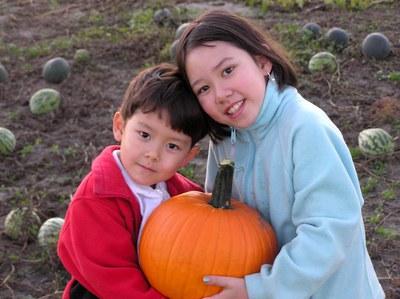'Neon' pumpkin